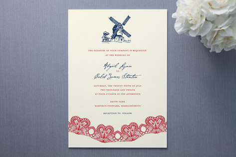 East Coast Country Charm Wedding Invitations