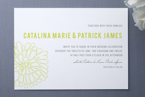 Clavel Wedding Invitations