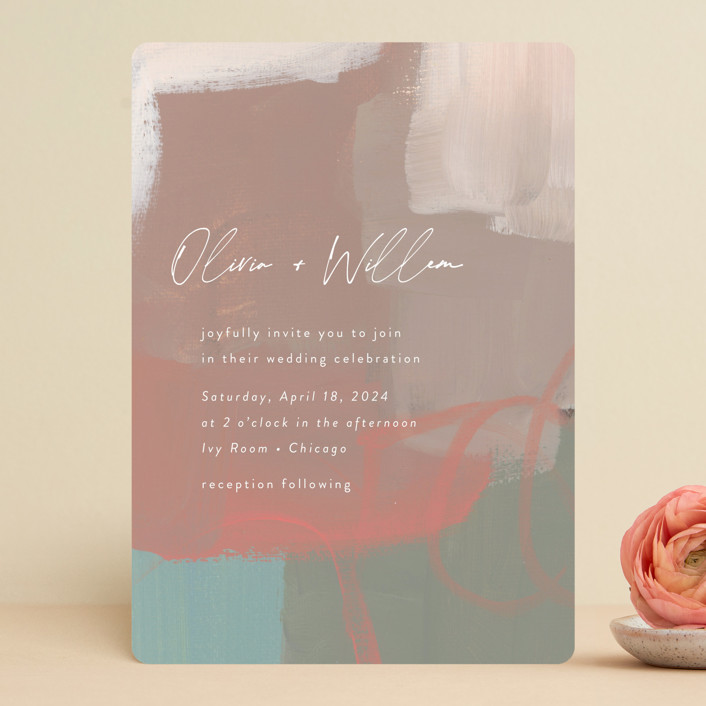 """""""Gallery"""" - Wedding Invitations in Mojito by Lindsay Megahed."""