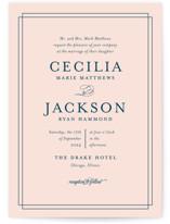Chic Gala Wedding Invitations