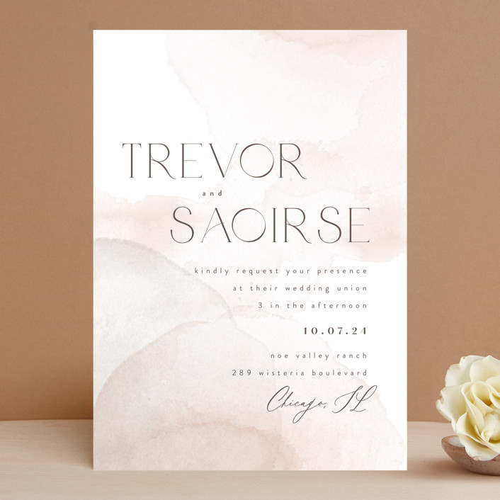 """kirsch"" - Wedding Invitations in Sand by chocomocacino."