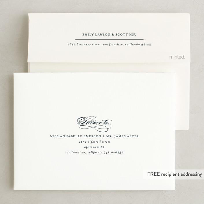 Big city san francisco wedding invitations by hooray creative minted invitation suite free wedding website envelope design stopboris Choice Image