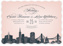 Big City - San Francisco Wedding Invitations