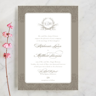 Formalities Wedding Invitations