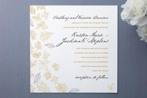 Frolic Wedding Invitations