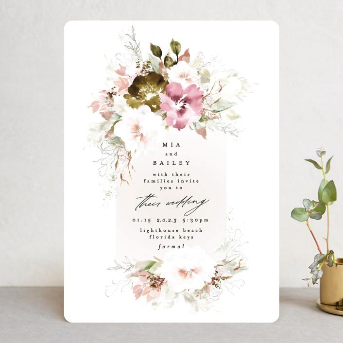 """Beautiful Spring"" - Wedding Invitations in Spring by Phrosne Ras."
