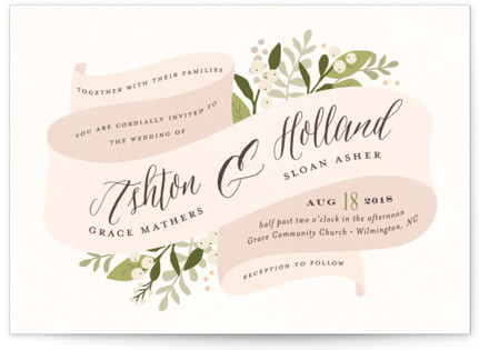 Ribbonly Wedding Invitations