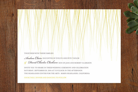 Goldshine Wedding Invitations