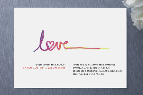 Free Love Wedding Invitations