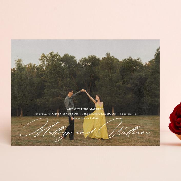 """""""Cielo"""" - Wedding Invitations in Ecru by Anna Elder."""