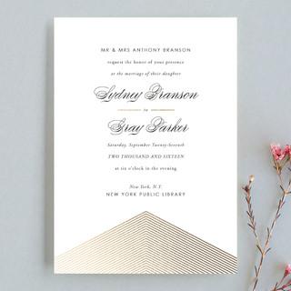 Culmination Wedding Invitations