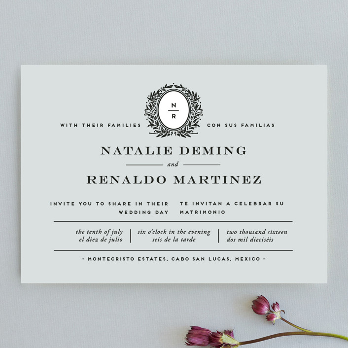 Wedding Invitations Dayton Ohio: Endure Wedding Invitations By Jennifer Postorino