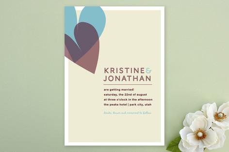 2 of Hearts Wedding Invitations