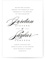 Waltz Wedding Invitations