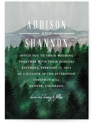 Adventure Awaits Wedding Invitations