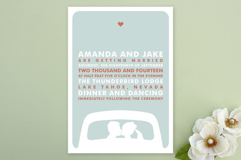 just married Wedding Invitations