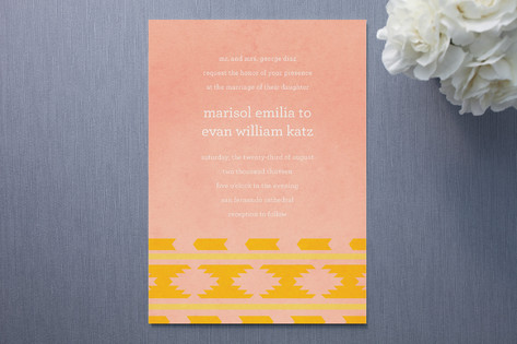 Suzani Wedding Invitations