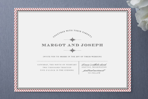 Apothecary Wedding Invitations