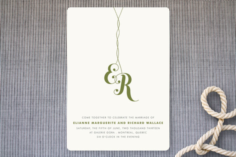 Come Together Wedding Invitations