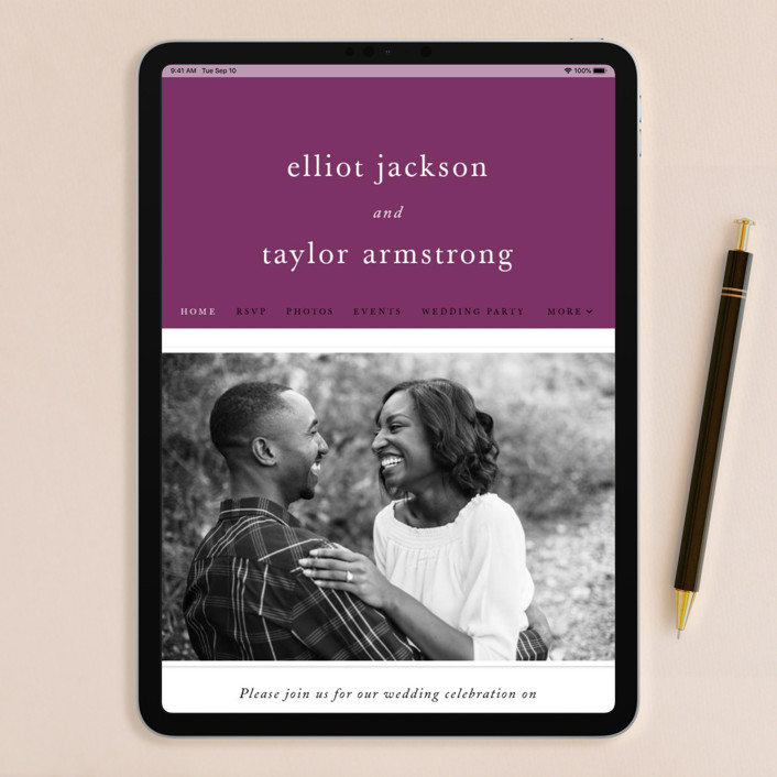 Wedding Invitation Website: Evermore Wedding Invitations By Carly Reed Walker
