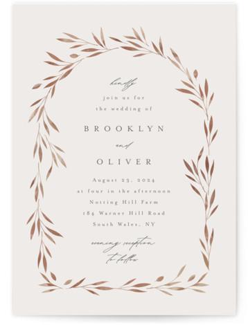 Lennox Wedding Invitations