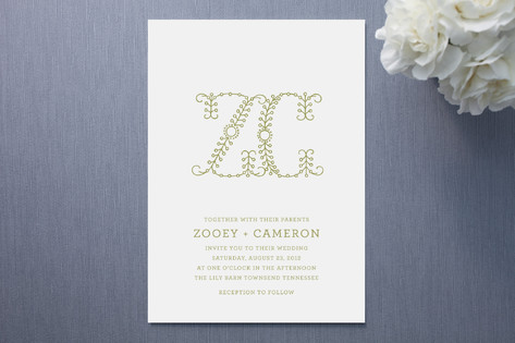 Homespun Wedding Invitations