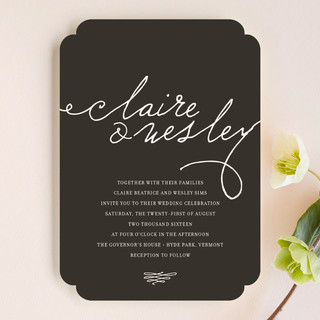 Love Letter Wedding Invitations By Annie Clark Minted