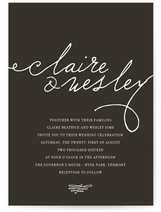 Love Letter Wedding Invitations