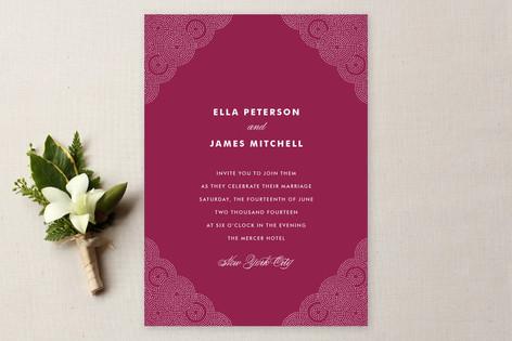 High Brow Wedding Invitations