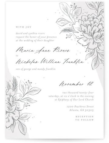 Loving Wedding Invitations