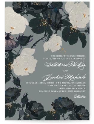 Romanticism Wedding Invitations