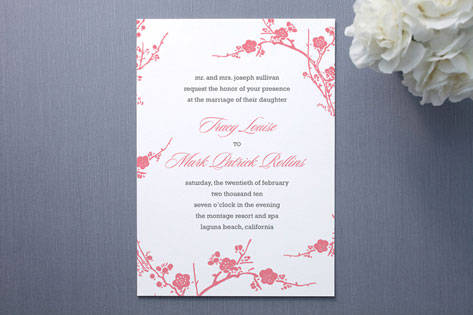 Tracy Wedding Invitations