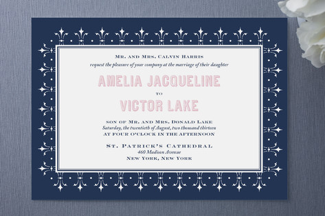 Estrella Wedding Invitations