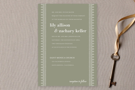 Leyton Wedding Invitations