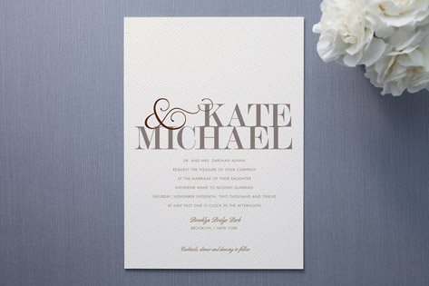 modern tweed wedding invitations - Modern Wedding Invitations