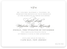 Charming Go Lightly Wedding Invitations