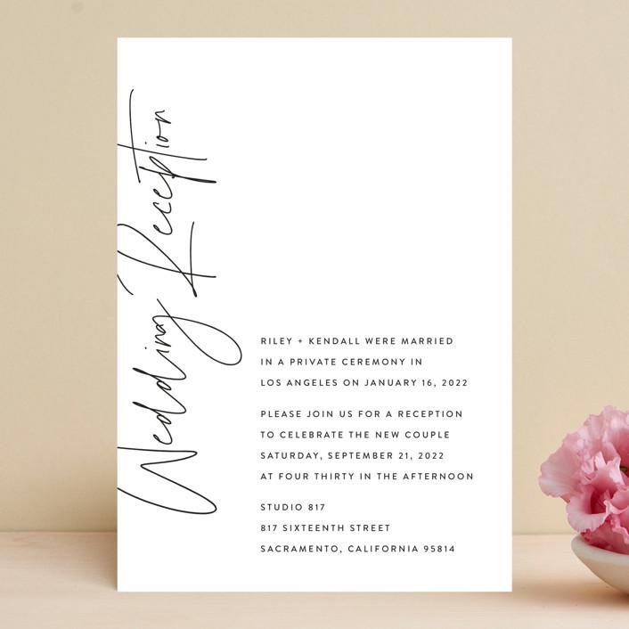 """printed"" - Wedding Invitations in Onyx by JoAnn Jinks."