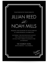 Modern Classic Wedding Invitations