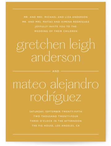 goldfinch Wedding Invitations