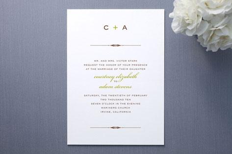 Courtney Wedding Invitations