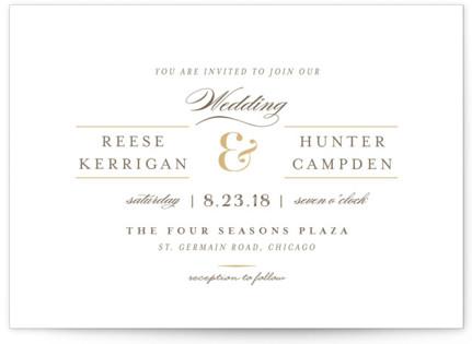 Valencay Wedding Invitations