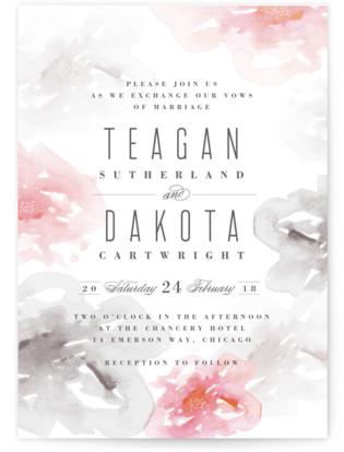 Flora Romance Wedding Invitations