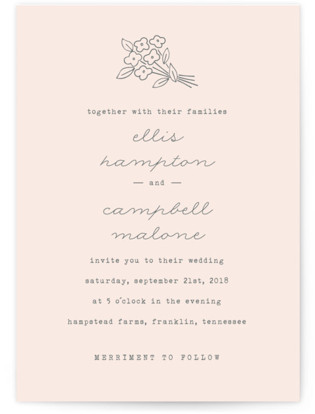 Simply Yours Wedding Invitations