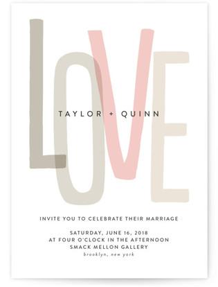 Love Lettered Wedding Invitations