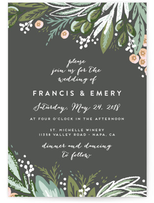 Meadow Breeze Wedding Invitations