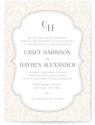 Morris Wedding Invitations