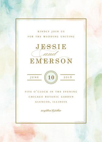 Sway wedding invitations by angela marzuki minted stopboris Gallery