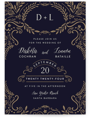 photo of Wedding Enchantment Wedding Invitations