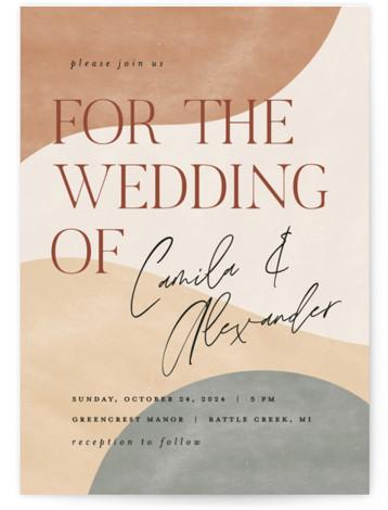Surface Wedding Invitations
