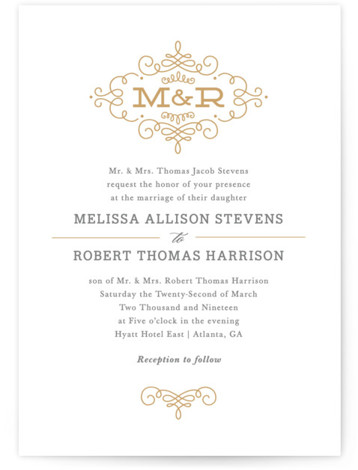 Ornate Monogram by Kristin Smith
